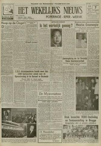 Het Wekelijks Nieuws (1946-1990) 1953-11-07