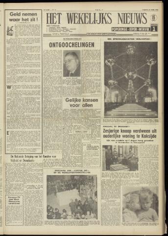 Het Wekelijks Nieuws (1946-1990) 1958-04-25