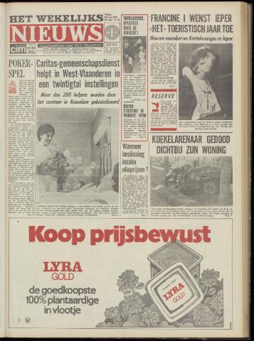 Het Wekelijks Nieuws (1946-1990) 1974-03-22