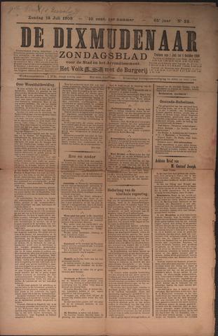 De Dixmudenaar 1909-07-18