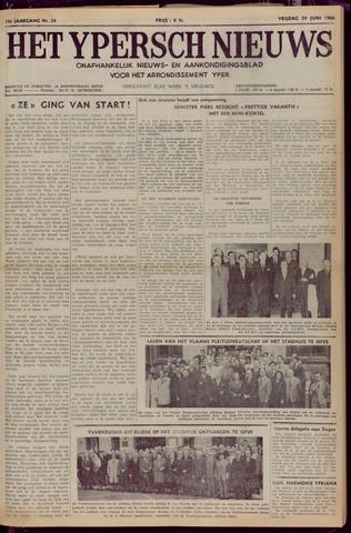 Het Ypersch nieuws (1929-1971) 1966-06-24