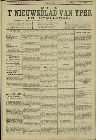 Nieuwsblad van Yperen en van het Arrondissement (1872 - 1912) 1902-01-25