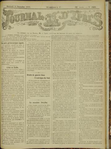 Journal d'Ypres (1874 - 1913) 1897-12-08