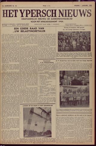 Het Ypersch nieuws (1929-1971) 1967-01-07