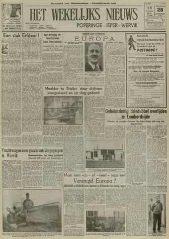 Het Wekelijks Nieuws (1946-1990) 1953-11-28