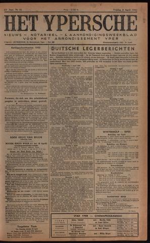 Het Ypersch nieuws (1929-1971) 1943-04-09