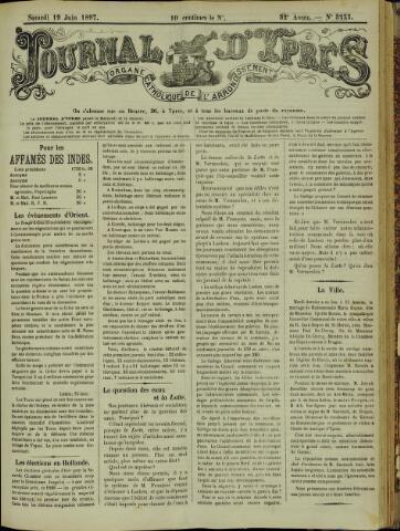 Journal d'Ypres (1874 - 1913) 1897-06-19