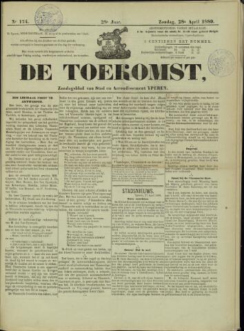 De Toekomst (1862 - 1894) 1889-04-28