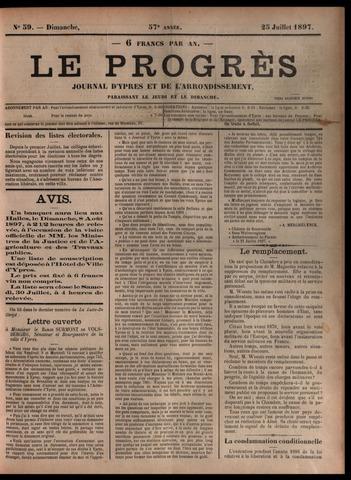 Le Progrès (1841-1914) 1897-07-25