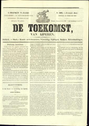 De Toekomst (1862 - 1894) 1868-02-16