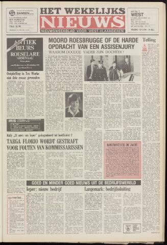 Het Wekelijks Nieuws (1946-1990) 1984-10-19