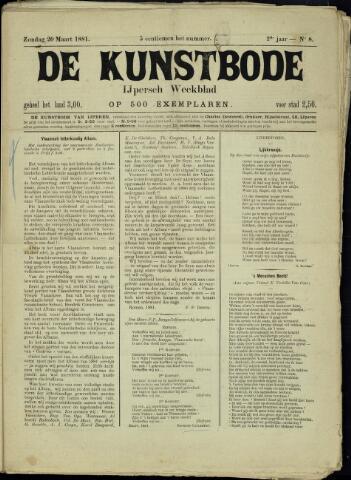 De Kunstbode (1880 - 1883) 1881-03-20