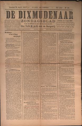 De Dixmudenaar 1907-04-21