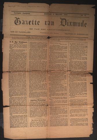 Gazette van Dixmude 1900-03-04