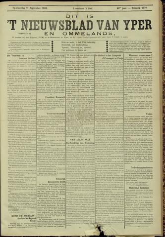 Nieuwsblad van Yperen en van het Arrondissement (1872 - 1912) 1905-08-26