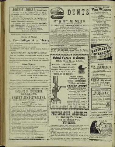 Journal d'Ypres (1874 - 1913) 1899-10-20