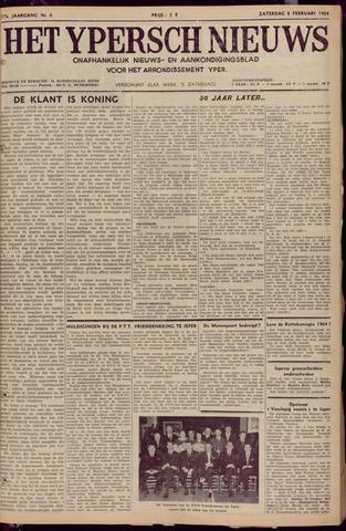 Het Ypersch nieuws (1929-1971) 1964-02-08