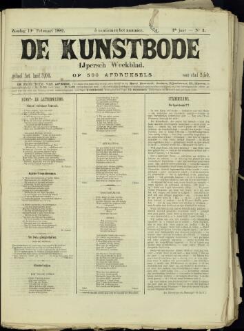 De Kunstbode (1880 - 1883) 1882-02-19