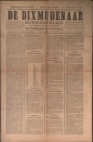 De Dixmudenaar 1909