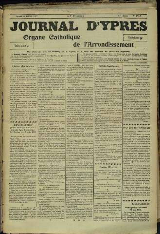 Journal d'Ypres (1874 - 1913) 1912-07-06
