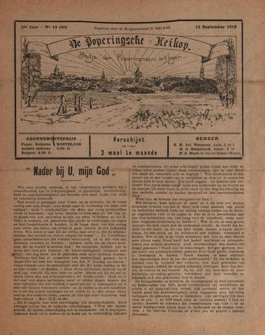 De Poperingsche Keikop (1917-1919) 1918-09-15