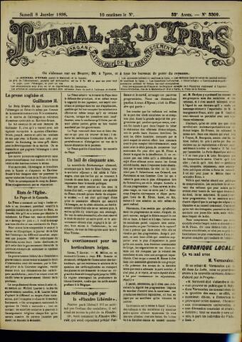 Journal d'Ypres (1874 - 1913) 1898-01-08