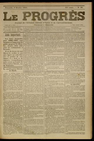Le Progrès (1841-1914) 1905-10-01