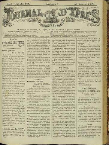 Journal d'Ypres (1874 - 1913) 1897-09-04