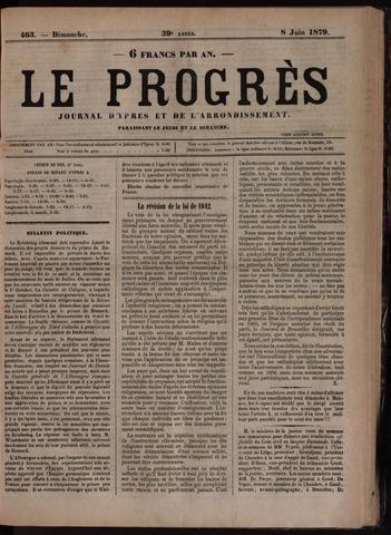 Le Progrès (1841-1914) 1879-06-08