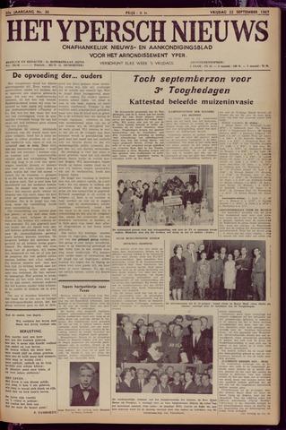 Het Ypersch nieuws (1929-1971) 1967-09-22