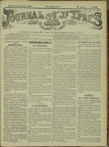 Journal d'Ypres (1874 - 1913) 1895-12-14