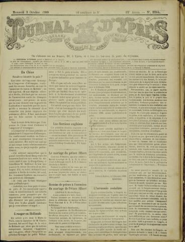 Journal d'Ypres (1874 - 1913) 1900-10-03