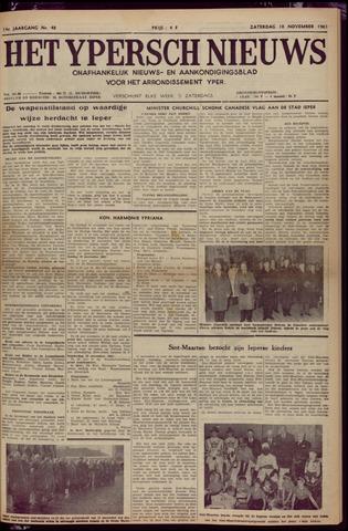 Het Ypersch nieuws (1929-1971) 1961-11-18