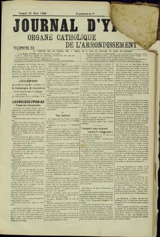 Journal d'Ypres (1874 - 1913) 1906-03-31