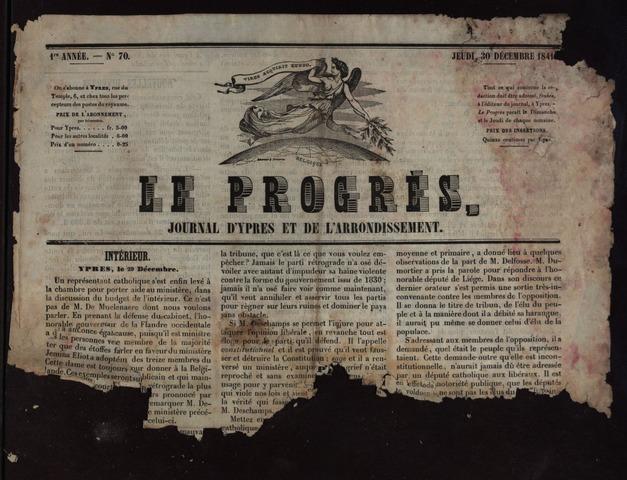 Le Progrès (1841-1914) 1841-12-30
