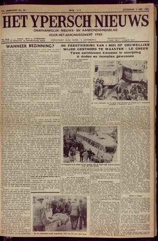 Het Ypersch nieuws (1929-1971) 1962-05-05