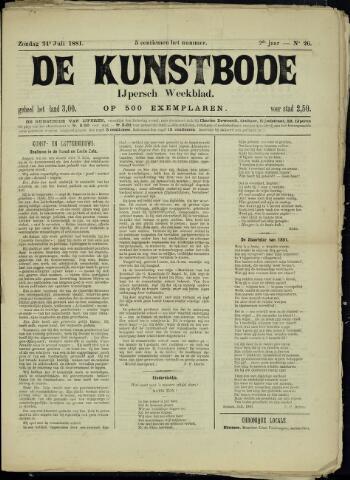 De Kunstbode (1880 - 1883) 1881-07-24