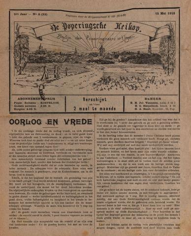 De Poperingsche Keikop (1917-1919) 1918-05-15