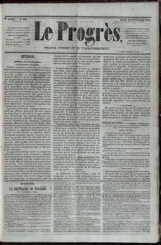 Le Progrès (1841-1914) 1847-09-30