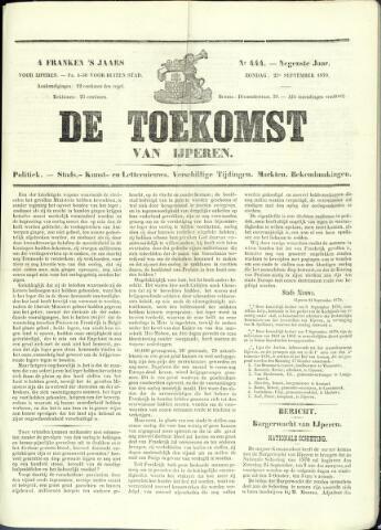 De Toekomst (1862 - 1894) 1870-09-25