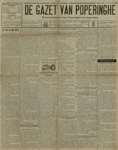 De Gazet van Poperinghe  (1921-1940) 1930-11-09