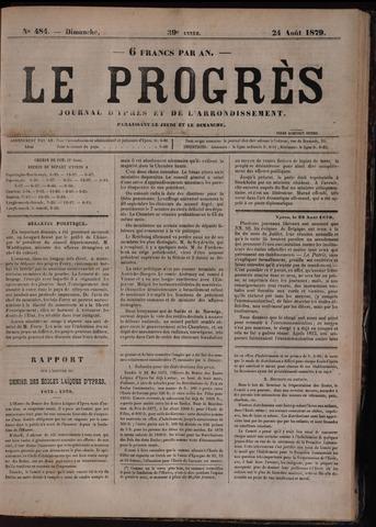 Le Progrès (1841-1914) 1879-08-24