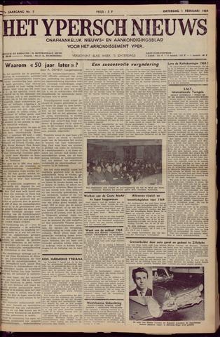 Het Ypersch nieuws (1929-1971) 1964-02-01