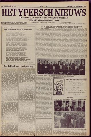 Het Ypersch nieuws (1929-1971) 1966-11-11