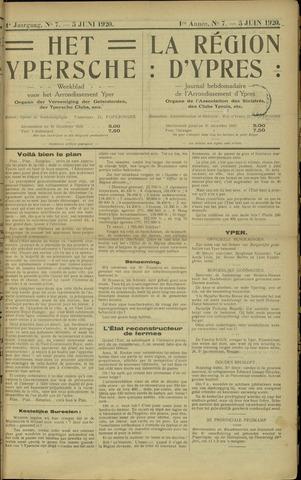 Het Ypersche (1925 - 1929) 1920-06-05