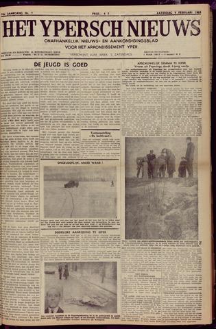 Het Ypersch nieuws (1929-1971) 1963-02-09