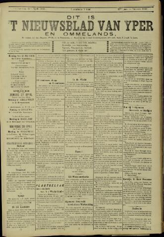 Nieuwsblad van Yperen en van het Arrondissement (1872 - 1912) 1902-10-18