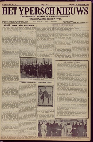 Het Ypersch nieuws (1929-1971) 1966-11-18