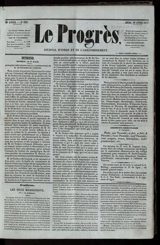 Le Progrès (1841-1914) 1847-04-22