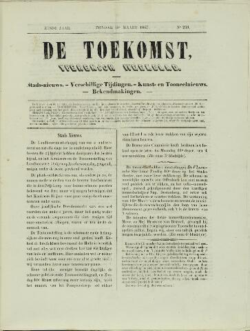 De Toekomst (1862 - 1894) 1867-03-10